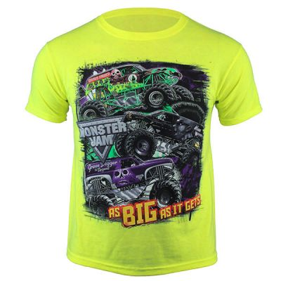 Monster Jam Youth Series Tee - Green