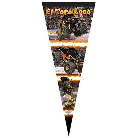 El Toro Loco Black Flag by Monster Jam