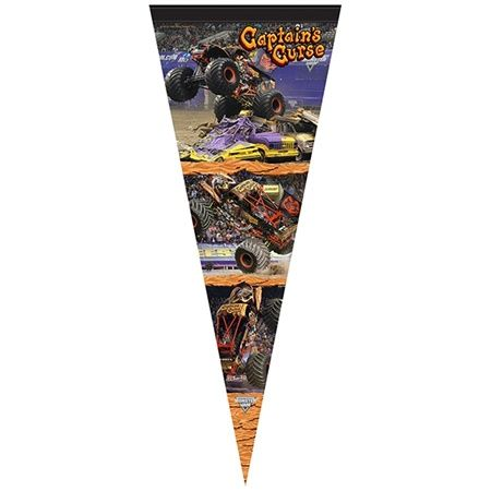 Captain's Curse Flag by Monster Jam