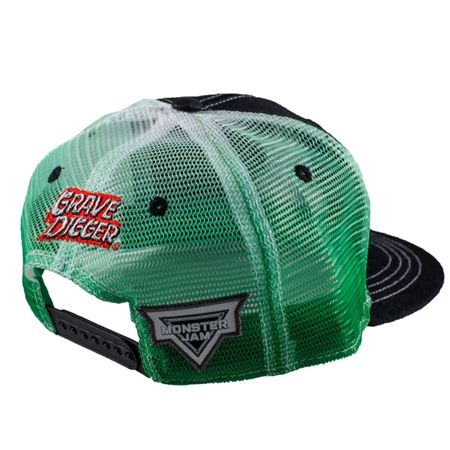 Grave Digger Fade Mesh Cap by Monster Jam