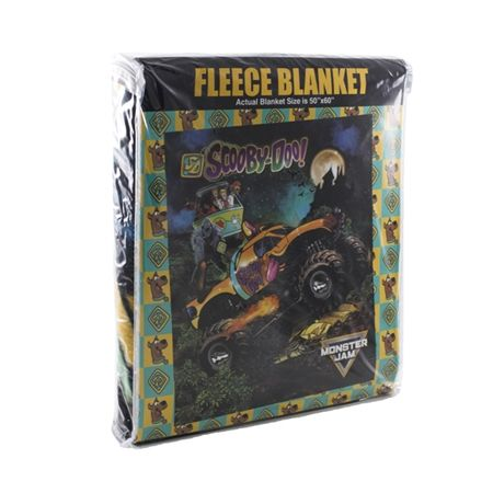 Scooby-Doo Fleece Blanket by Monster Jam
