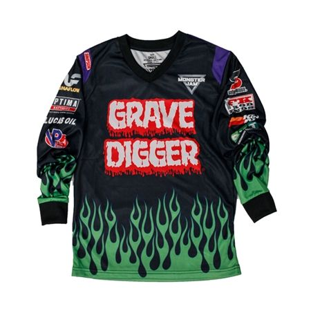 Monster Jam Grave Digger Playwear Set by Monster Jam