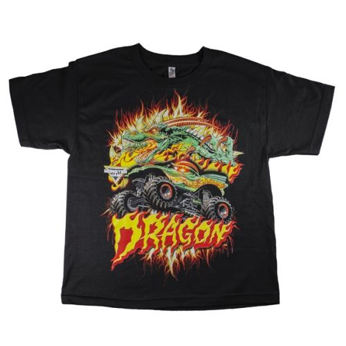 Dragon Fire Youth Tee by Monster Jam