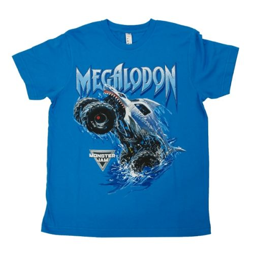 Megalodon Breach Youth Tee by Monster Jam