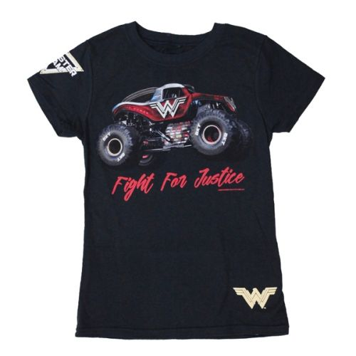 Wonder Woman Justice Youth Tee by Monster Jam
