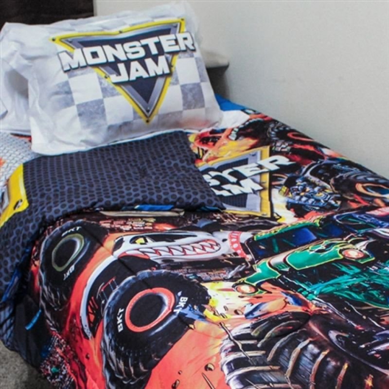 Monster Jam Twin Bedding Set