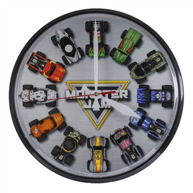 Monster Jam Wall Clock