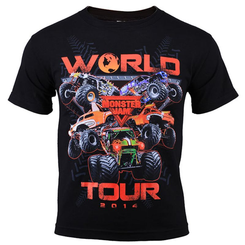 Monster Jam 2014 Youth Series Tee - Black