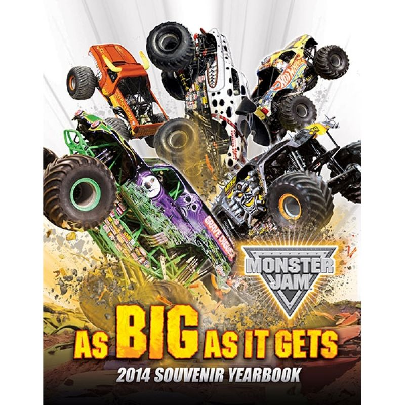 Monster Jam 2014 Yearbook