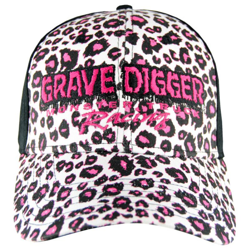 Grave Digger Ladies Cheetah Cap