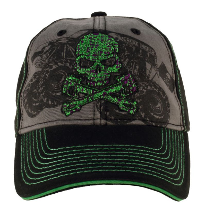 Grave Digger Wired Cap