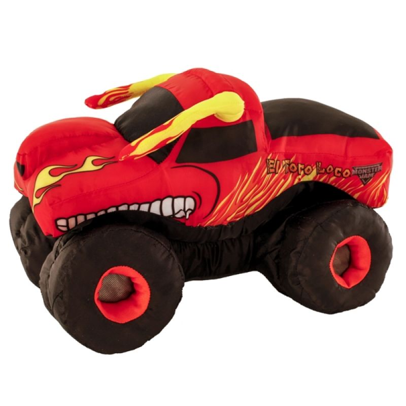 El Toro Loco Orange Plush Truck