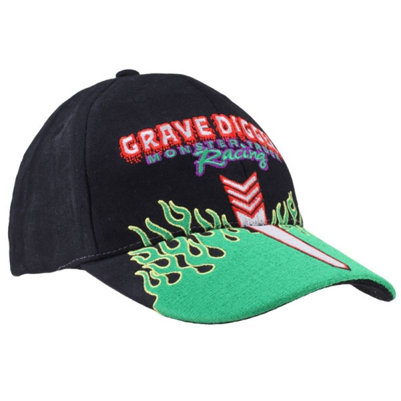 Grave Digger Youth Hood Cap