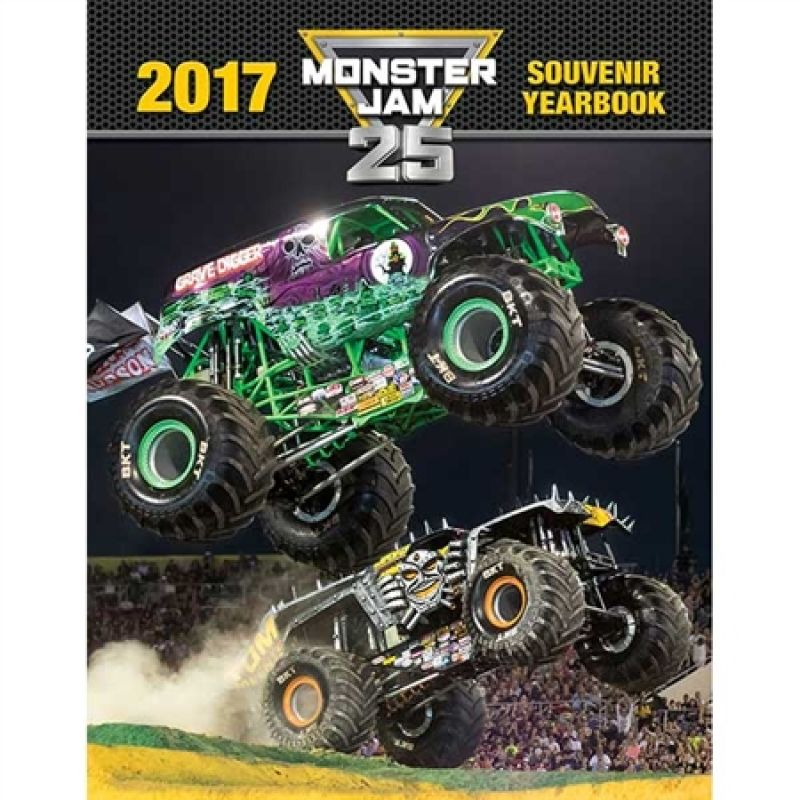 Monster Jam 2017 Yearbook